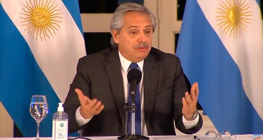 Fernández lanzó el Programa Federal Argentina Construye