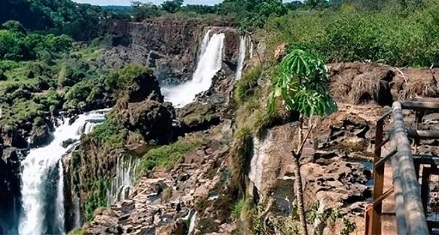 Nuevas imágenes de las Cataratas del Iguazú sin agua: Hasta cuándo seguirían así