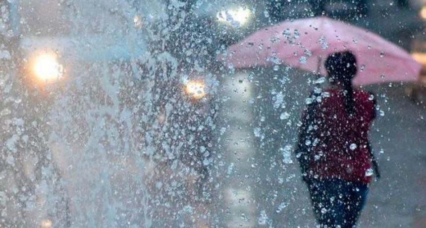 Alerta por tormentas: Pronostican hasta 70 milímetros de lluvia en Entre Ríos