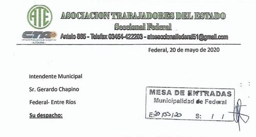 La Seccional de Ate pide recomposición  salarial para los empleados municipales