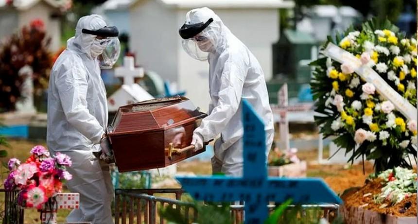 Brasil, con 20 mil contagios en un día: segundo país con más casos del mundo
