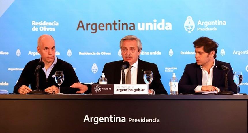 Fernández confirmó la prórroga de la cuarentena hasta el 7 de junio inclusive