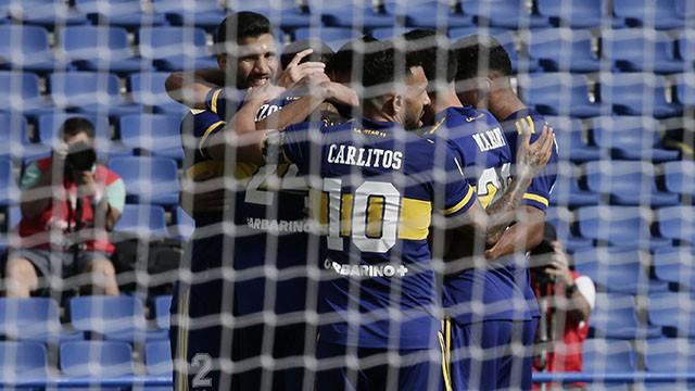 Boca derrotó a Lanús 1 a 0 y consiguió la clasificación a la siguiente ronda