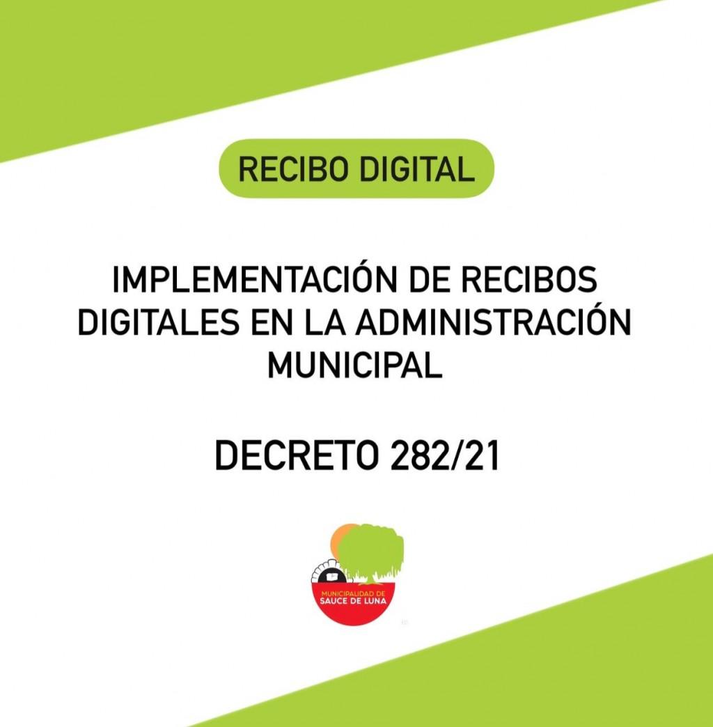 IMPLEMENTACIÓN DE RECIBOS DIGITALES EN LA ADMINISTRACIÓN MUNICIPAL