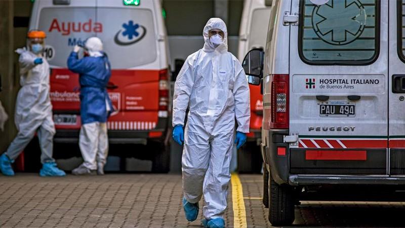 Confirmaron 540 muertes en el país y 15.920 contagios en las últimas 24 horas
