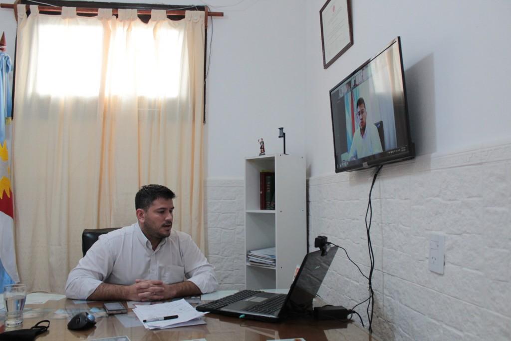 Reunión virtual por el Programa