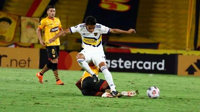 Boca no hizo pie en Guayaquil y cayó 1-0 ante Barcelona por la Copa Libertadores