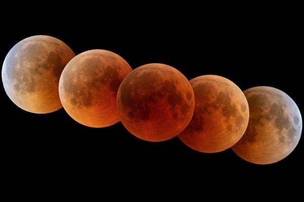 El 26 llega el primer eclipse del año y será de Superluna