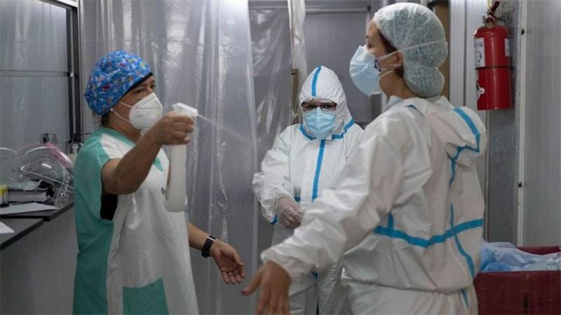 Fuerte repunte de casos de coronavirus en la provincia: reportaron 844 positivos. 13 en el Departamento Federal