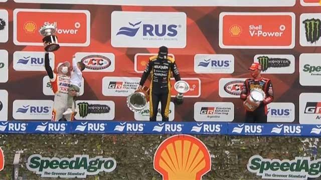 TC en Paraná: En un electrizante final, Benvenuti se quedó con la final y Werner fue escolta