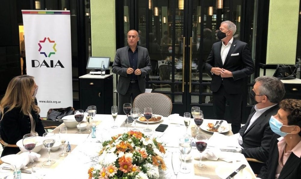 Importante compromiso entre Israel y la Argentina en la lucha contra el coronavirus