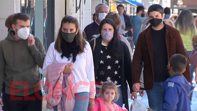 Reportaron 693 casos de coronavirus en la provincia en las últimas 48 horas . En el Departamento Federal 11 casos