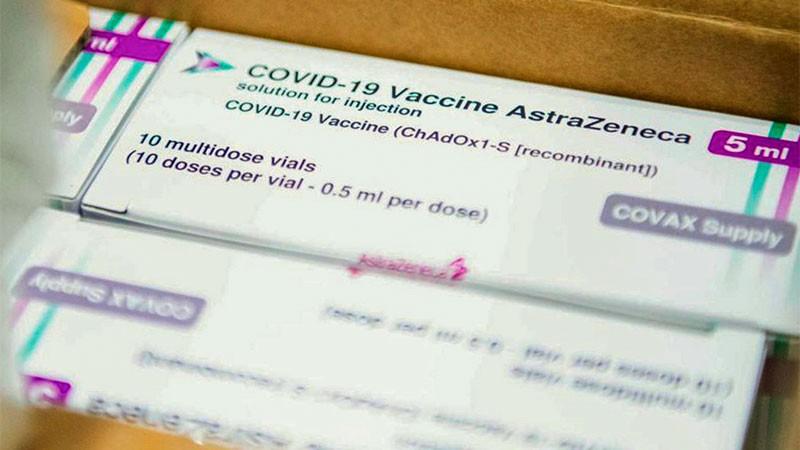 Cuatro millones de vacunas de AstraZeneca llegarán al país durante mayo