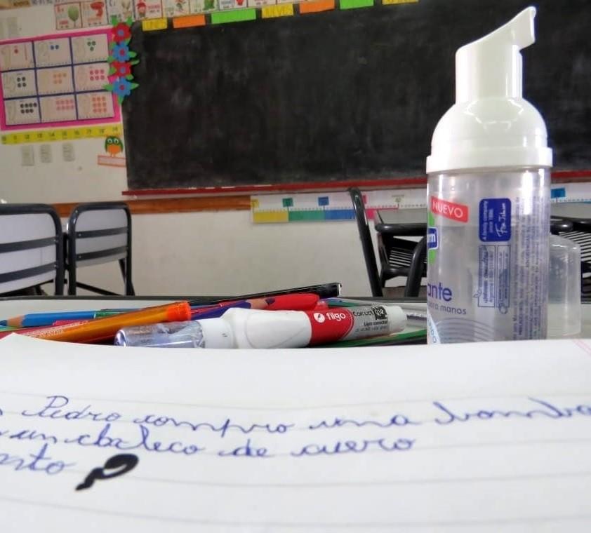 Covid en la escuela: las fallas que detectó un sondeo