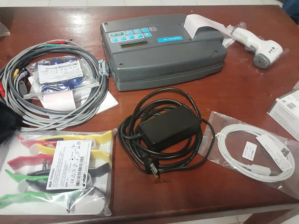 La Liga Federalense de Fútbol ya cuenta con su electrocardiograma propio y Termómetros láser