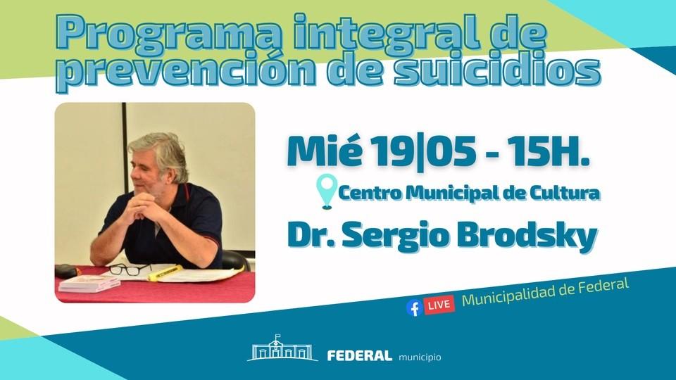 Exposición sobre el Programa Integral de Prevención de Suicidios en Federal