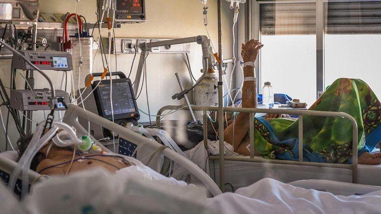 Están ocupadas el 72,76% de las camas de Terapia Intensiva de la provincia