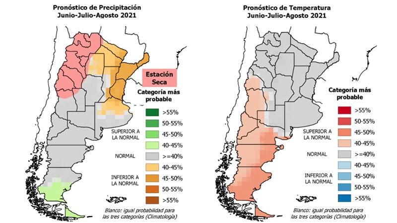 Lluvias y temperaturas: prevén que el invierno no será extremadamente frío