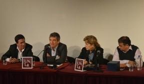 Urribarri disertó en la Universidad de Lanús