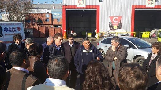 De Angeli participó de la jornada sobre tratamiento de residuos junto a Intendentes y legisladores