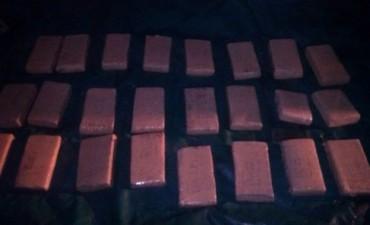 La Policía de Entre Ríos incautó 1.000 kilos de marihuana en un operativo