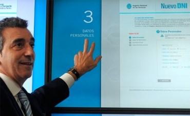 Nuevo DNI: En 48 horas, se iniciaron más de 100.000 trámites por internet