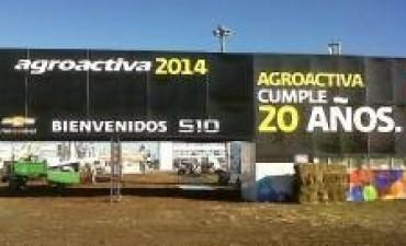Comenzó AgroActiva y estuvo marcado por las visitas de dirigentes políticos y rurales