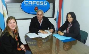 Cafesg e INTA renovaron convenio de cooperación recíproca para crecimiento y reconversión de sectores productivos
