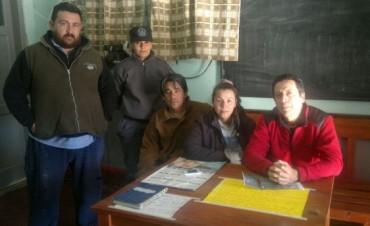 Empleados del Hospital Colonia se reunieron con técnicos de la D.P.V.