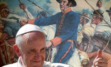El Papa Francisco recordó a José Gervasio de Artigas en una carta