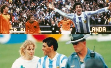 Contrastes en el mismo día: el primer campeonato del mundo y el doping de Maradona