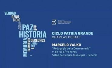 Marcelo Valko estará en Federal presentando