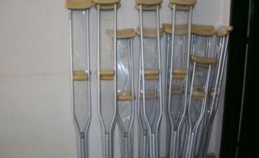En Villaguay se inauguró en una Escuela una fábrica de elementos ortopédicos