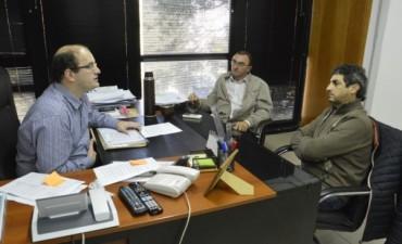 Boxler y Taleb se reunieron con el ministro Ramos