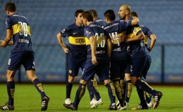 Boca  en una Bombonera vacía se acordó de ganar:  goleó a Newell's por 4-0