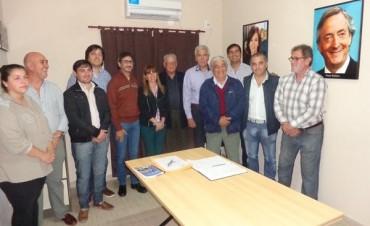 Encuentro de precandidatos en el Bloque de Concejales Justicalista