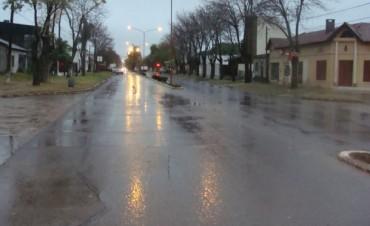 Un comienzo de semana con lluvias