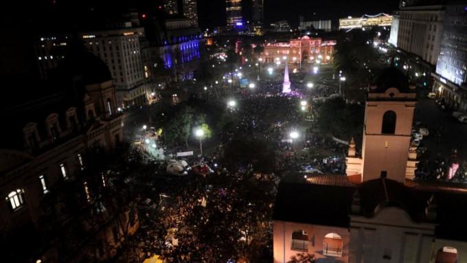 #NiUnaMenos: multitudinaria marcha en reclamo por el fin de la violencia de género