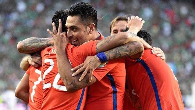 Chile liquidó a México para meterse entre los cuatro mejores de la Copa América
