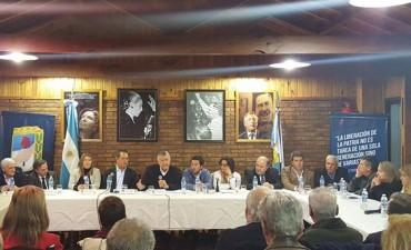 Urribarri es secretario general del PJ nacional