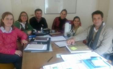 Reunión de trabajo con la coordinación del Copnaf en el departamento Federal