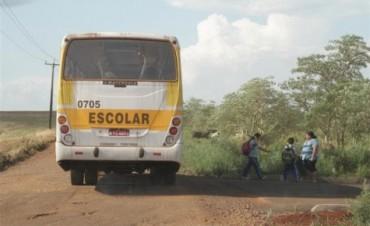 El lunes comienza el pago para prestadores de Transporte Escolar Rural