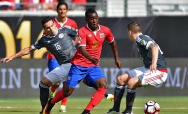 Paraguay no pudo con Costa Rica en su debut en la Copa