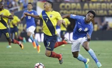 Brasil empató sin goles ante Ecuador por el Grupo B de la Copa América Centenario 2016