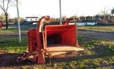 Incorporan procesador de residuos verdes en la Planta de Tratamiento