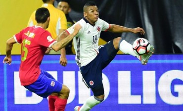 Costa Rica dio la sorpresa y derrotó a Colombia