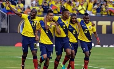 Ecuador avanzo a Cuartos de Final tras golear a la selección de Haití