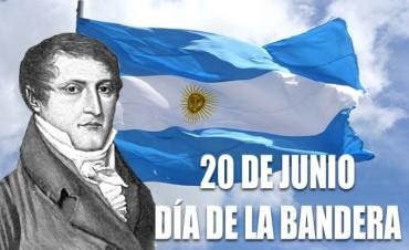 En el Acto por el Día de la Bandera Federal recibe al Gobernador Gustavo Bordet