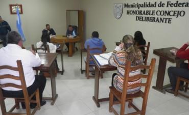 Concejo Deliberante trabajo en importantes iniciativas para nuestra Ciudad.