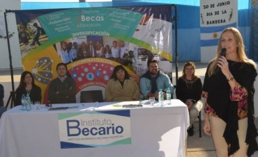 El Instituto Becario estuvo en Federal y se concretaron importantes anuncios